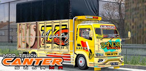 Mod Truck Canter Sujama Versi 1.0