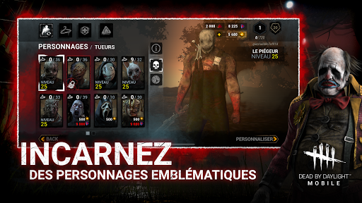 DEAD BY DAYLIGHT MOBILE - Multiplayer Horror Game screenshots apk mod 5