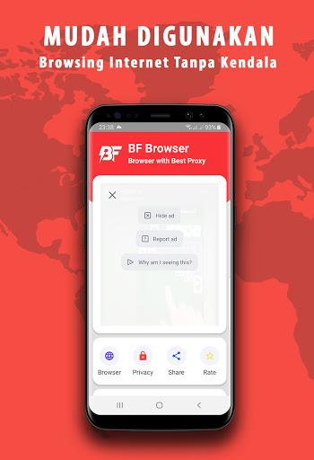 BF Browser Anti Blokir 1.1.0 Screenshots 2