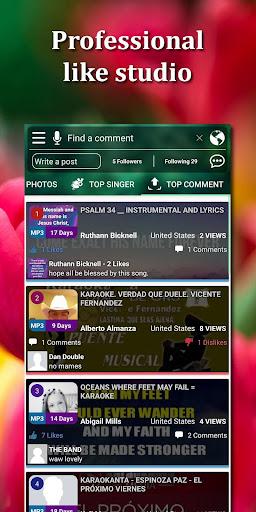 Kakoke - sing karaoke, voice recorder, singing app  Screenshots 2