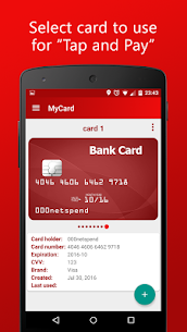MyCard – Contactless Payment 4