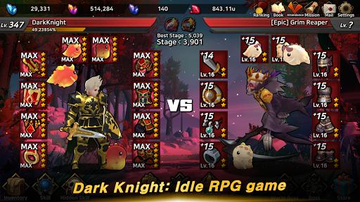 Dark Knight : Idle RPG game 0.1041 screenshots 3