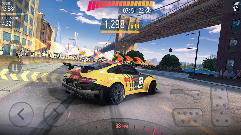 Drift Max Pro - Car Drifting Game with Racing Cars  poster 1