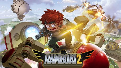 Ramboat 2 - Run and Gun Offline FREE dash game screenshots 4