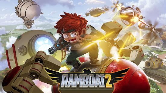 Ramboat 2 - Run and Gun Offline FREE dash game 2.0.9 Screenshots 4
