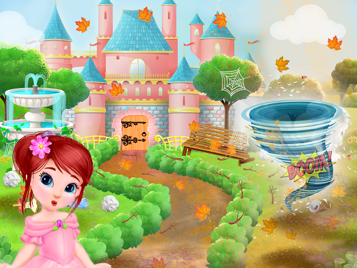 Princess House Cleanup For Girls: Keep Home Clean apkpoly screenshots 5