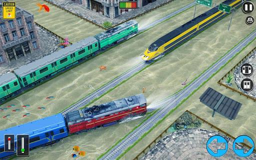 Underwater Bullet Train Simulator : Train Games 2.9.0 screenshots 8