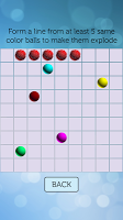 screenshot of Line 98 Standard: Classic Retro Color Lines 1998