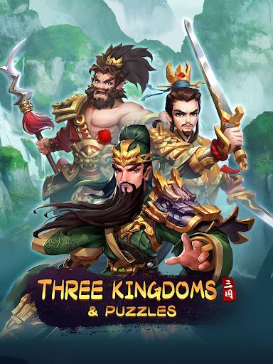 Three Kingdoms & Puzzles: Match 3 RPG screenshots 10