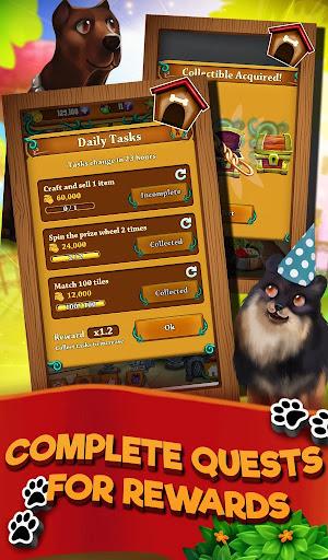Match 3 Puppy Land - Matching Puzzle Game apktram screenshots 4