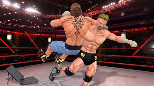 BodyBuilder Ring Fighting Club: Wrestling Games apklade screenshots 2