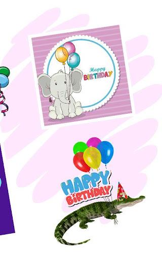 Happy Birthday Greeting Cards And GIF  screenshots 4