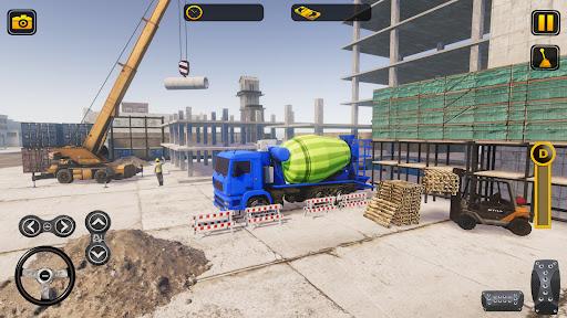 Heavy Construction Simulator Game: Excavator Games 1.0.1 screenshots 21