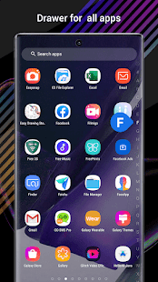 Perfect Note20 Launcher for Galaxy Note,Galaxy S A 4.9 Screenshots 2