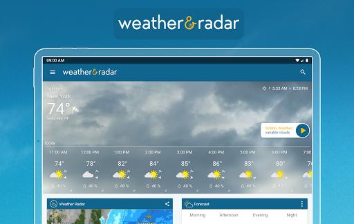 Weather & Radar - Storm radar apktram screenshots 7