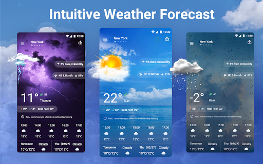 Weather Forecast - Local Weather Channel & Alerts 1.5.0 screenshots 1