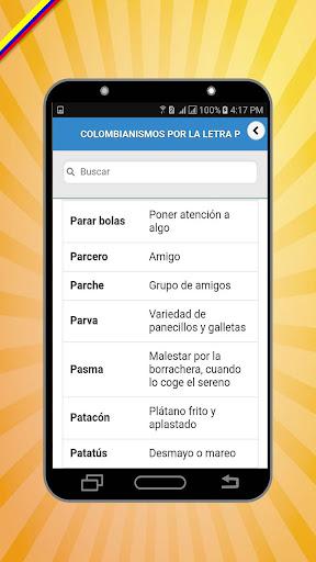 Colombianismos screenshots 3
