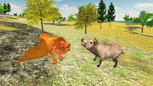 Angry Flying Lion Simulator 2021 screenshots 12