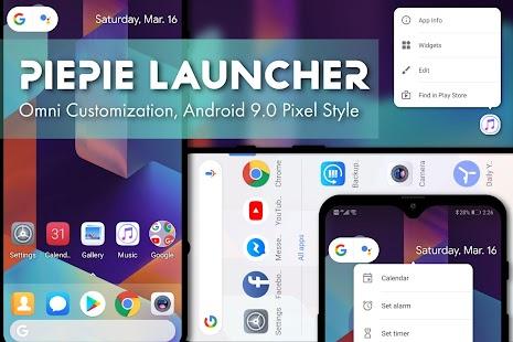 PSOL Launcher - Pixel Style Omni Launcher Screenshot