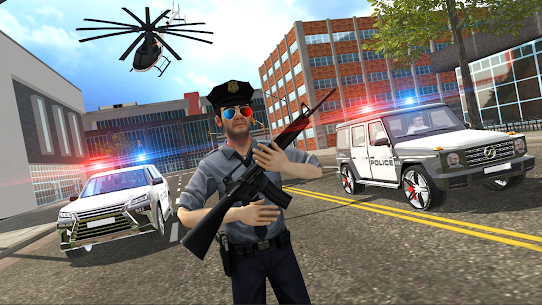 Police vs Gangsters 4×4 Offroad Mod Apk 1.1.1 (Endless Money) 3