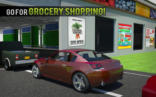 Drive Thru Supermarket: Shopping Mall Car Driving 2.3 screenshots 9