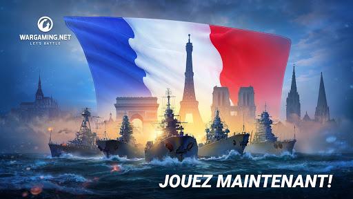 Télécharger gratuit World Of Warship Blitz: Jeu de Bataille Navale APK MOD 1