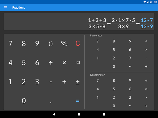 Fractions - calculate and compare 2.18 Screenshots 11
