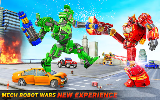 Horse Robot Car Game u2013 Space Robot Transform Wars  screenshots 6