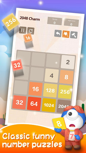 2048 Charm: Classic & Free, Number Puzzle Game 4.9501 screenshots 3
