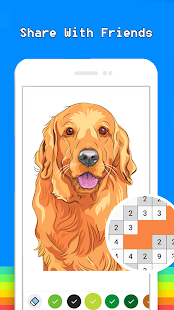 Pet Pixel Art Book Color By Number Coloring Pages