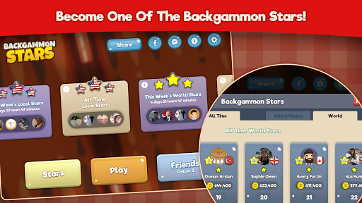 Backgammon Stars, Tavla 2.22 screenshots 24