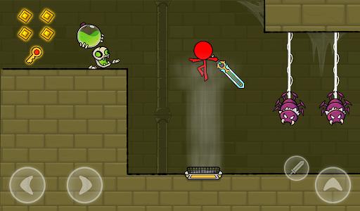 Red Stickman : Animation vs Stickman Fighting android2mod screenshots 19
