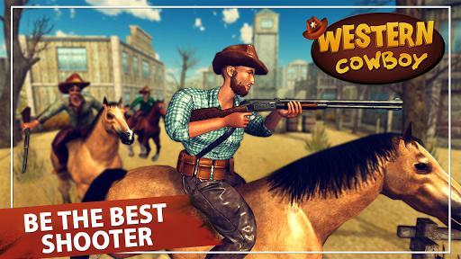 western cowboy action adventure: street gun fire screenshot 1