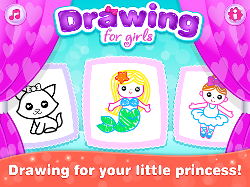 Kids Drawing Games for Girls! Apps for Toddlers!  screenshots 17