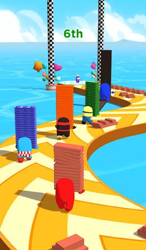 Shortcut Race 3D - Impostor Stack & Run apktreat screenshots 1