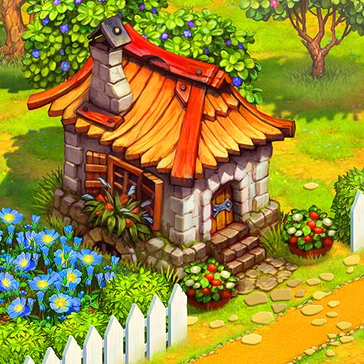 Charm Farm: Village Games. Magic Forest Adventure.