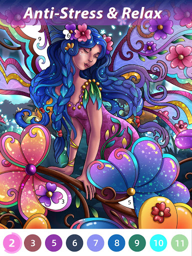 Flora Coloring: Color by Number Painting Game 1.0.10 screenshots 10