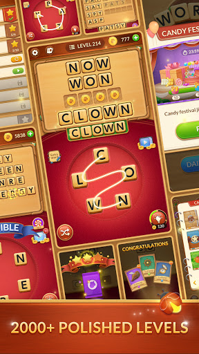 Word Card: Fun Collect Game apkslow screenshots 6