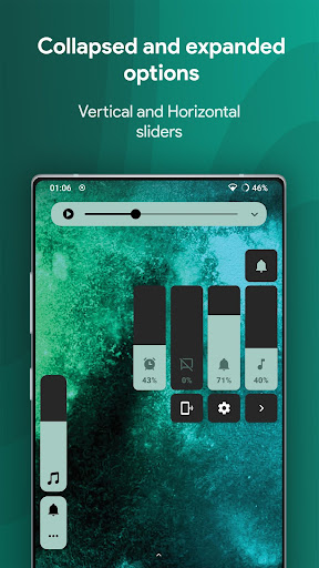 Ultra Volume: Custom Volume Slider Panel & Themes 3.3.4 Screenshots 3