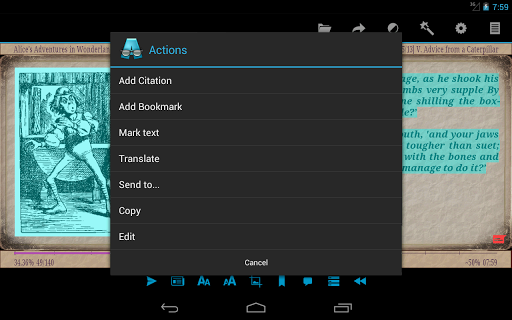 AlReader -any text book reader 1.931910300 Screenshots 23
