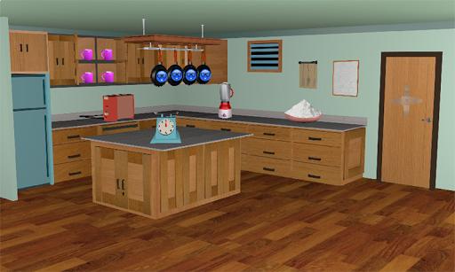 3D Escape Games-Puzzle Kitchen  screenshots 2