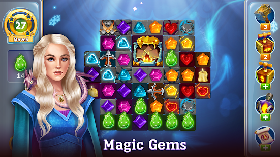 Diamonds Time - Mystery Story Free Match 3 Game Screenshot
