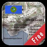 Central America Topo Maps