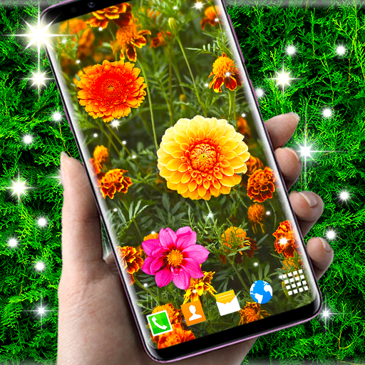 Autumn Flowers 4k Live Wallpaper Forest Themes Apps On Google Play