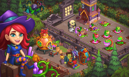 Monster Farm - Happy Ghost Village - Witch Mansion 1.60 screenshots 14