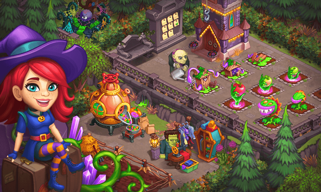 Monster Farm - Happy Ghost Village - Witch Mansion poster 22