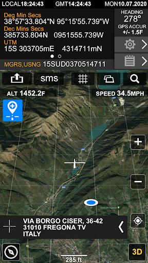 Download APK: GPS Location Info, SMS Coordinates, Compass + v2.8.5 [Pro]