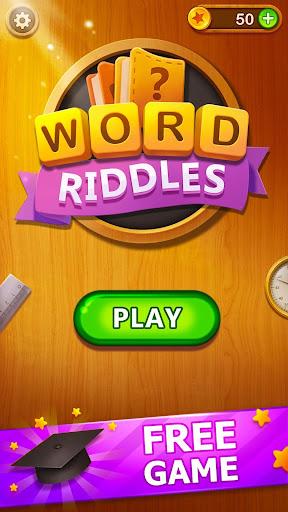 Word Riddles - Free Offline Word Games Brain Test 2.3 screenshots 5