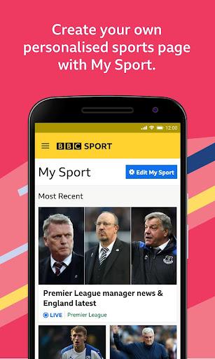 BBC Sport - News & Live Scores apktram screenshots 2