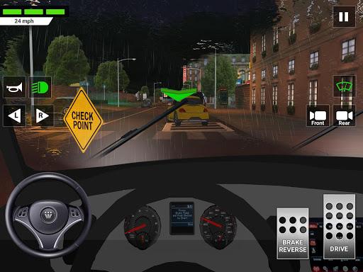 City Car Driving & Parking School Test Simulator 3.0 screenshots 14